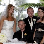 Bride and Groom - Bridesmaid and best man
