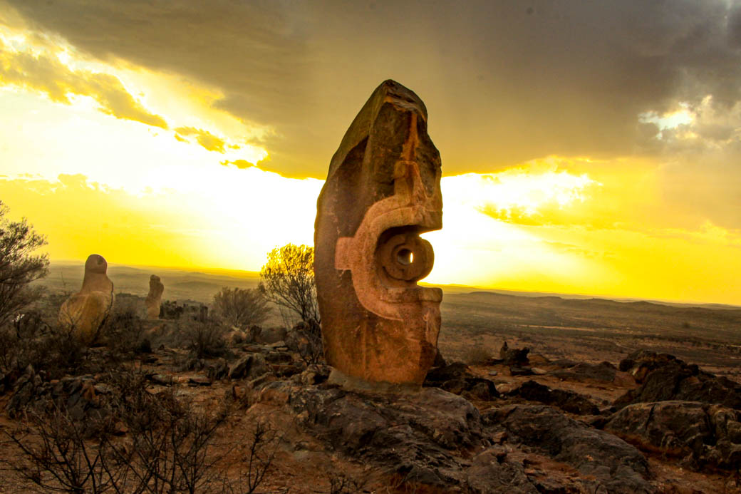 Remember This @ The Living Desert and Sculptures Broken Hill (NSW)